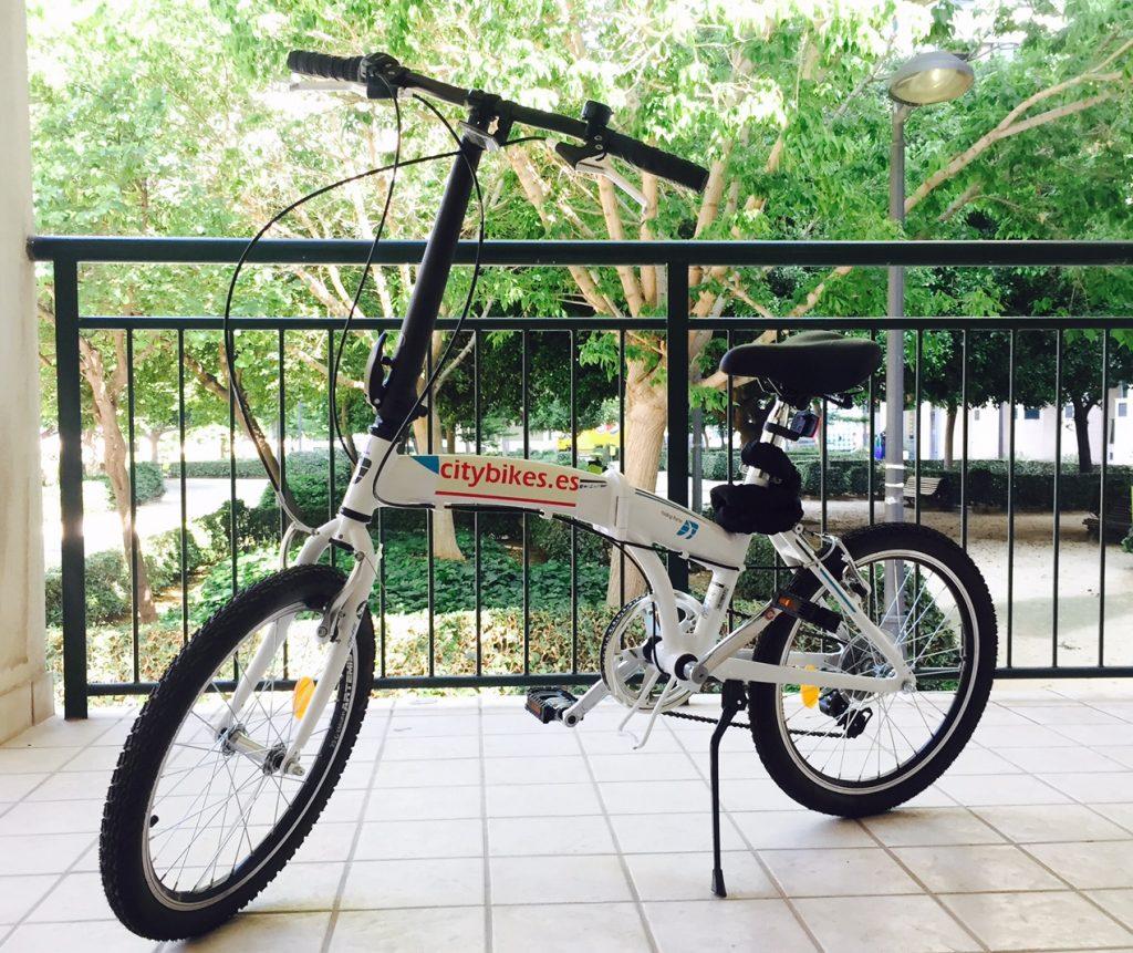 Alquiler bicicletas pegables en Valencia